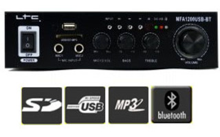 Madison MFA 1200 USB Bluetooth negro