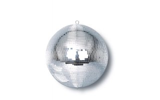 Mark WHITE MIRROR BALL 12""