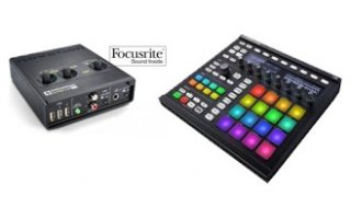 Maschine MK2 + Novation AudioHub 2x4