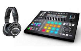 Maschine Studio + A&T ATH-M50x