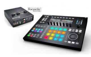 Maschine Studio + Novation AudioHub 2x4