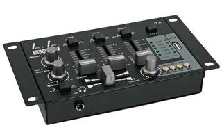 Mesa de mezclas - 2 Canales + Entrada USB