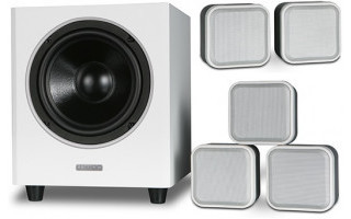Mission M-Cube 5.1 System Ivory