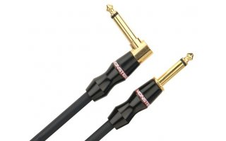 Monster Cable MBass75DA - Cable de Jack Acodado a Jack 0.20 metros