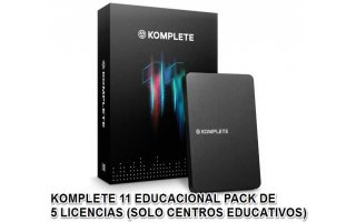 Native Instruments Komplete 11 EDU - 5 Licencias Pack