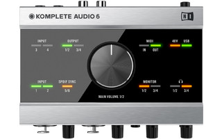 Imagenes de Native Instruments Komplete Audio 6