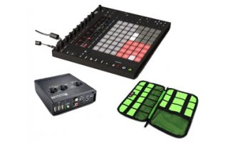 Novation AudioHub 2x4 + Ableton PUSH 2 + BuBm Case DSK-L