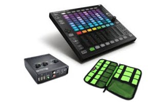 Novation AudioHub 2x4 + Maschine JAM + BuBm Case DSK-L