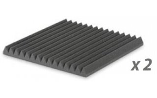 PACK: EZ FOAM WEDGES 5 CHARCOAL X2