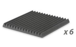PACK: EZ FOAM WEDGES 5 CHARCOAL X6