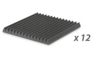 Pack: EZ Foam Wedges 5 Charcoal x 12 unidades