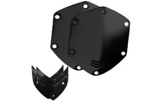 V-Moda Custom Shield Kit (Negro brillante)