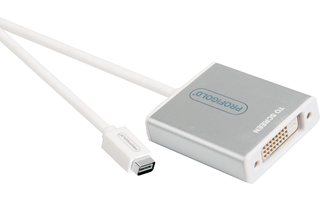 Adaptador Mini DisplayPort - DVI de Alto Rendimiento 0.2 m