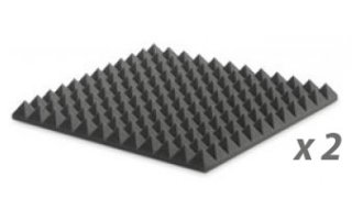 Pack: EZ FOAM PYRAMIDAL 5 CHARCOAL x2
