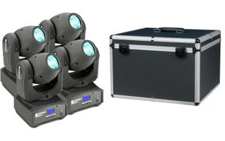 Pack: Nano Beam x4 + Flightcase D7013