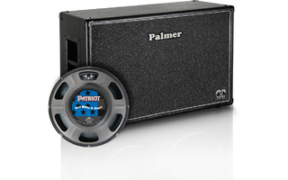 "Palmer MI CAB 212 RWB OB - Caja 2 x 12"" con Eminence Red White and Blues 4/8 Ohmios Trasera"