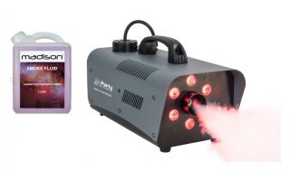 Party Fog 1200 LED + Humo 1 Litro
