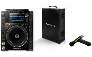 Pioneer CDJ 2000 Nexus 2 + FlightCase Pioneer + USB Corsair 32 Gb