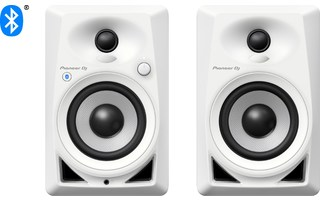 Pioneer DJ DM-40BT Blanco