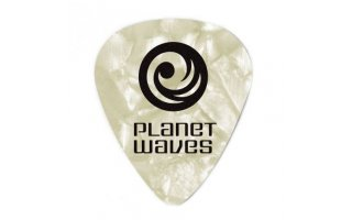 Planet Waves Blanco Perla Celluloid medium