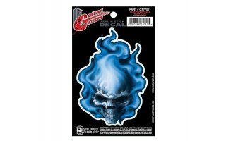 Planet Waves Blue Flame Skull