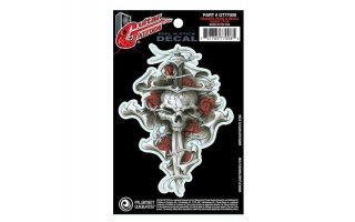 Planet Waves Dagger Rose Skull