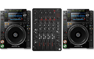 PlayDifferently Model 1.4 + 2x Pioneer DJ CDJ-2000 NXS2