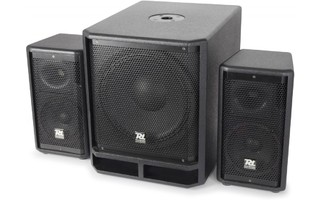 "Power Dynamics PD Combo 1200 de Subwoofer 12"" +2x Satelites 6,5"""