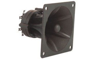 QTX Sound Tweeter Piezo Formato Bocina, 85 x 85 x 70mm 150W