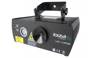 Ibiza Light FireFly 100+50mW - 1LED de 9W RGB