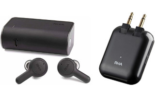 RHA True Connect 2 Wireless Pack - True Connect + Emisor Bluetooth - Stream Audio hacía cualquie