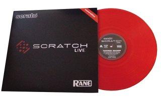 Rane Vinilo Serato Scratch Live - SSL-VINYL - ROJO