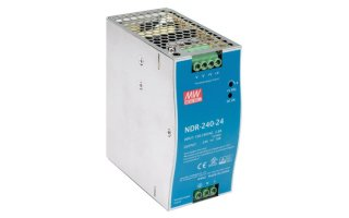 240 W SINGLE OUTPUT INDUSTRIAL DIN RAIL POWER SUPPLY 24 V 10 A