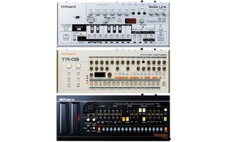 Roland Boutique SET: TB03 / TR09 / VP03