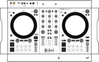 Traktor S2 MK3 Skin - White aka Star Trooper