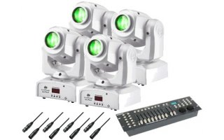 SET Cabeza Movil 15-01 - 24W LED Cree - Blanco