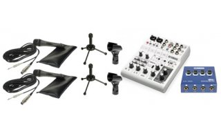SET PodCasting - 2 Casters - Yamaha / LD Systems