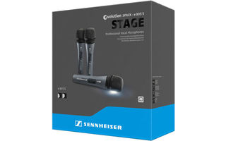 Sennheiser E835 S - 3Pack - Versión con interruptor On / Off
