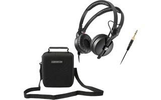 Sennheiser HD 25 + Magma Headphone Case Black II