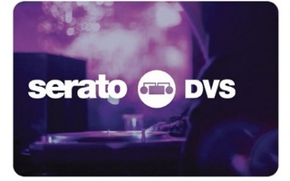 SERATO DVS SCRATCH CARD