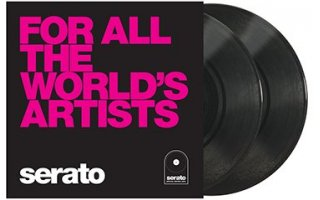 "10"" Serato Performance Series (Pareja) - For All The World's Artists"