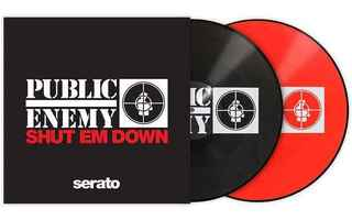 SERATO PRESSINGS PUBLIC ENEMY SHUT EM DOWN (PAREJA