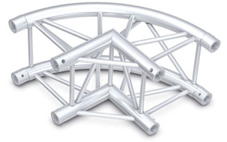 Showtec Truss Circle Corner 90° - Pro-30 Square F-Truss