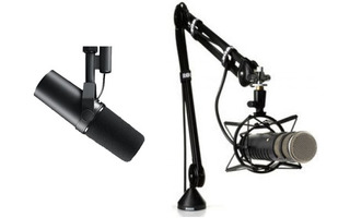 Shure SM7B + Rode PSA-1 Studio Arm