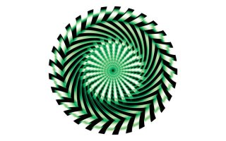 Slipmats Saw green Twin Pack