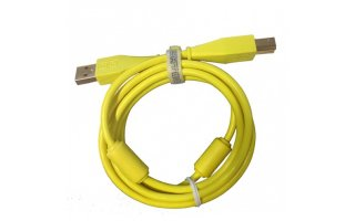 DJTechTools Chroma Cable Verde radiactivo - Recto