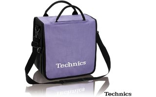 Technics Recordbag 60 LPs - Lila/Blanco