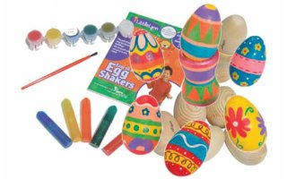 Tribal LL-EGG6A Egg Shaker Set for kid