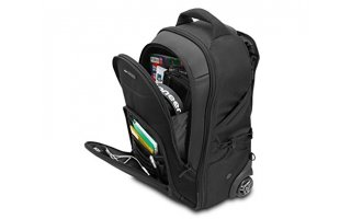"Imagenes de UDG Creator Wheeled Laptop Backpack Black 21"" v2"