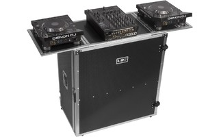 UDG U92049SL - UDG ULTIMATE FOLD OUT DJ TABLE SILVER PLUS (WHEELS)